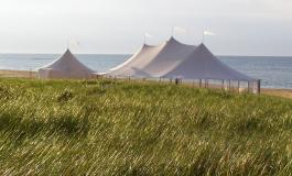 Натяжные шатры