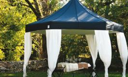 Шестигранные шатры