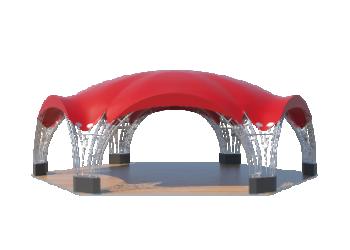 Для временных ангаров, гаражей, складов — Арочные шатры Лого главная