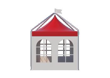 Для временных ангаров, гаражей, складов — Пагода шатры Лого главная