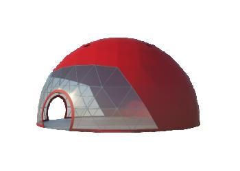 Для временных ангаров, гаражей, складов — Сферические шатры Лого главная