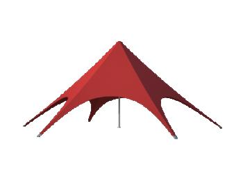 Звезда шатры для кафе, ресторанов, торговых точек Лого главная