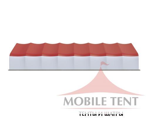 Арочный ангар 15х40 м Схема 3