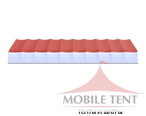 Арочный ангар 20х50 м Схема 3