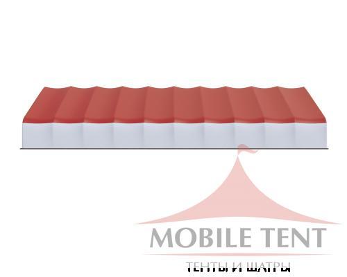 Арочный ангар 25х50 м Схема 3