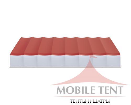 Арочный ангар 30х40 м Схема 3