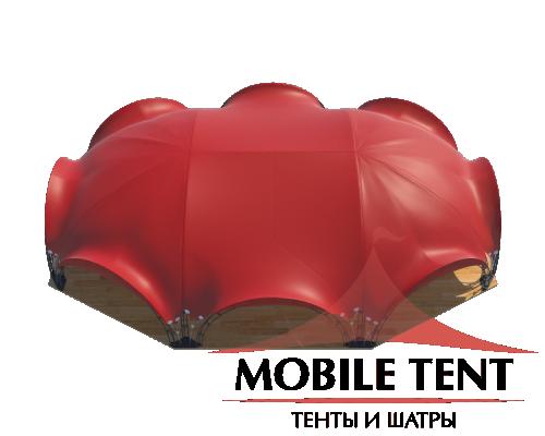 Арочный шатёр 21х15 — 287 м² Схема