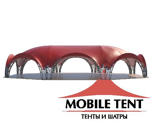 Арочный шатёр 27х20 — 460 м² Схема 1