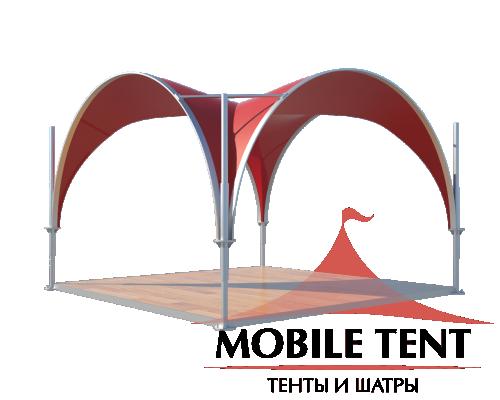 Арочный шатёр 3.5х3.5 — 12,25 м²(V) Схема 3