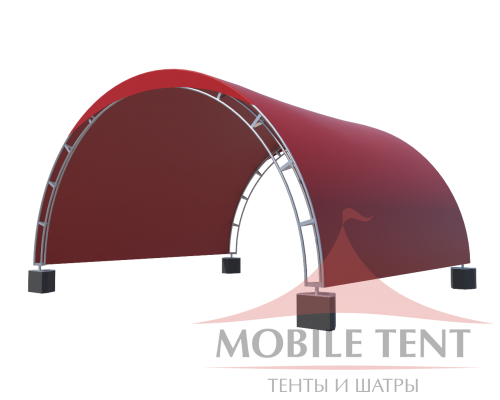 Арочный шатёр 6х5 — 30 м² Схема 4