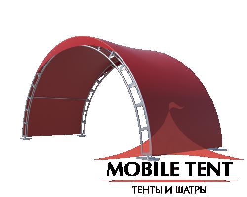 Арочный шатёр 8х3 — 24 м² Схема 2