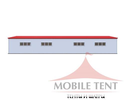 Каркасный ангар 25х50м Схема 3