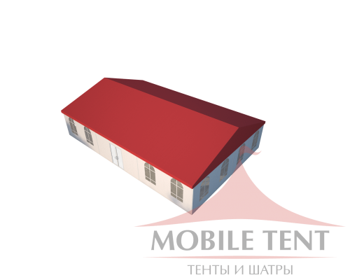 Классический шатёр 10х15 Схема