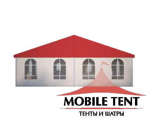 Классический шатёр 10х20 Схема 2