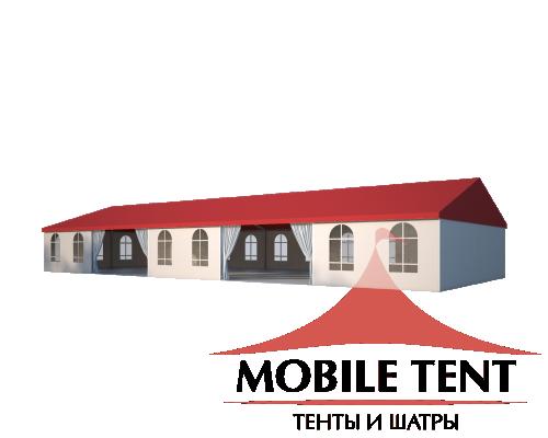 Большой шатер 10х25 Схема 1