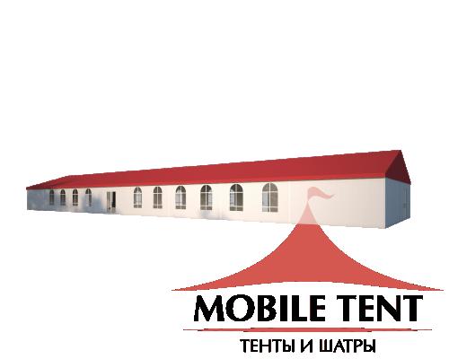 Классический шатёр 10х35 Схема 1