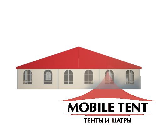 Классический шатёр 15х15 Схема 1