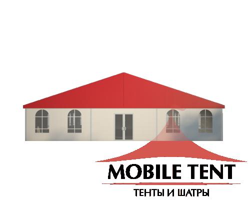 Классический шатёр 15х20 Схема 2