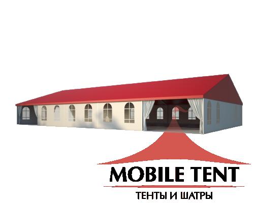 Классический шатёр 15х25 Схема 1