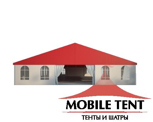 Классический шатёр 15х25 Схема 2