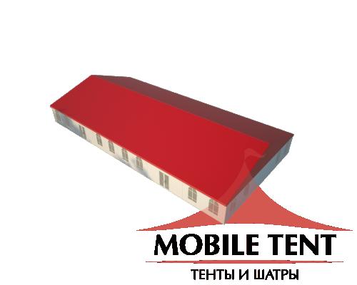 Классический шатёр 15х30 Схема