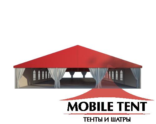 Классический шатёр 15х35 Схема 2