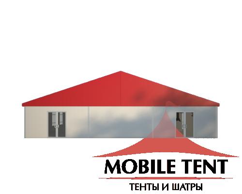 Классический шатёр 15х40 Схема 2