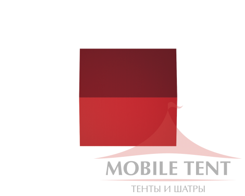 Классический шатёр 20х20 Схема 4