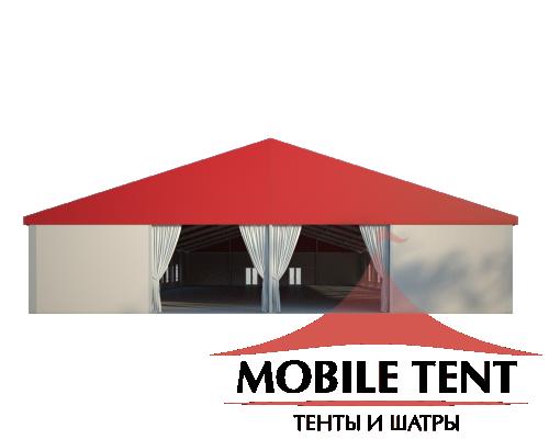 Классический шатёр 20х40 Схема 2