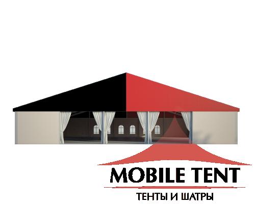 Классический шатёр 25х25 Схема 2