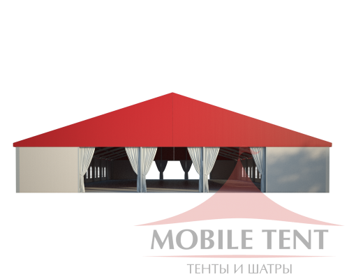 Классический шатёр 25х40 Схема 2