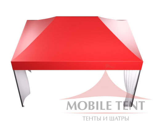Мобильный шатёр Hard Prof 3х4.5 Схема