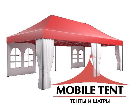 Мобильные шатры-трансформеры Prof 4х8 Схема 2