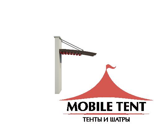 Пергола Подвесная 3х5 Схема 1