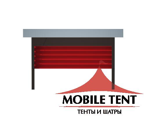 Пергола Подвесная 3х5 Схема 4