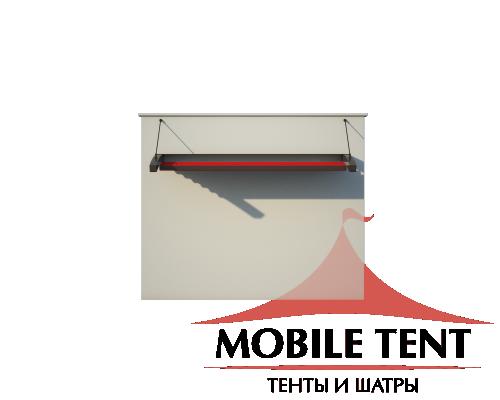 Пергола Подвесная 5х8 Схема 2