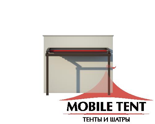 Пергола Стандарт 5х8 Схема 2