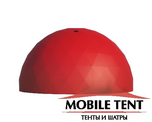 Сферический шатер диаметр 12 м Схема 1