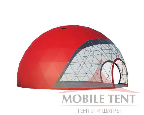 Сферический шатер диаметр 12 м Схема 3