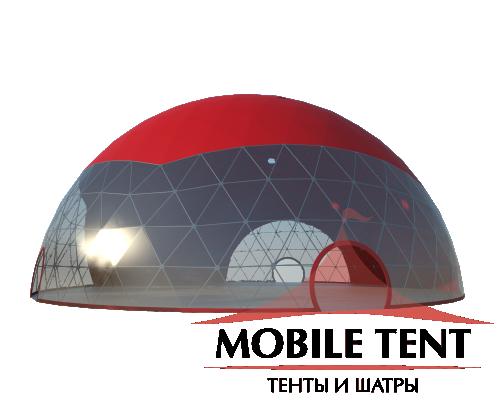 Сферический шатер диаметр 30 м Схема 1