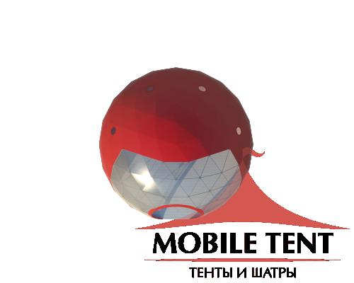 Сферический шатер диаметр 8 м Схема 4