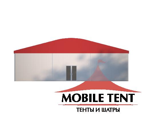 Шатёр для мероприятий 10х40 Схема 2