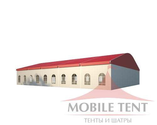 Шатёр для мероприятий 20х25 Схема 1