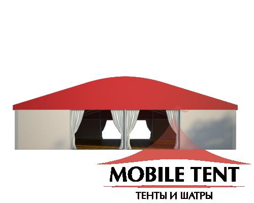 Шатёр для мероприятий 20х30 Схема 2