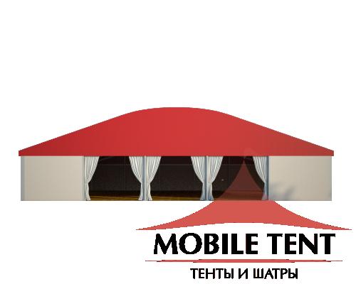 Шатёр для мероприятий 25х25 Схема 2
