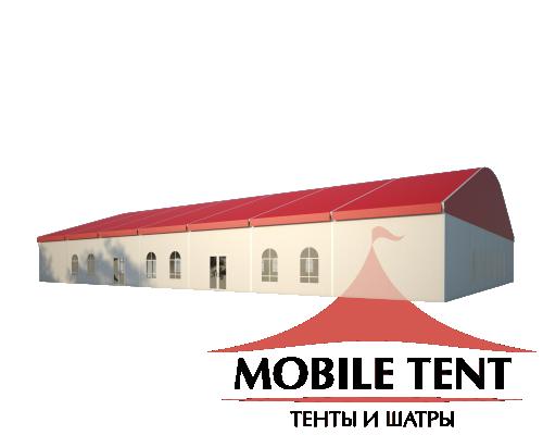 Шатёр для мероприятий 25х35 Схема 1