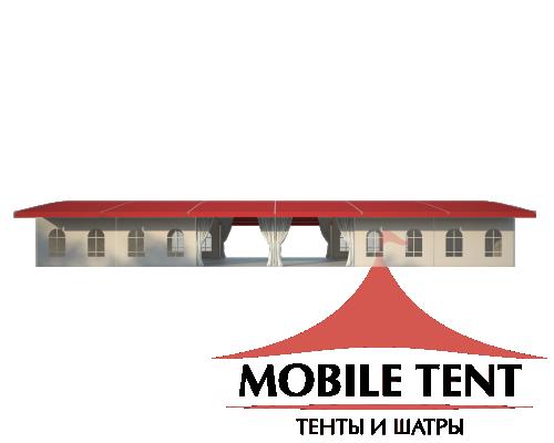 Шатёр для выставок 10х30 Схема 3