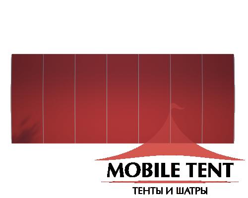 Шатёр для выставок 10х35 Схема 4