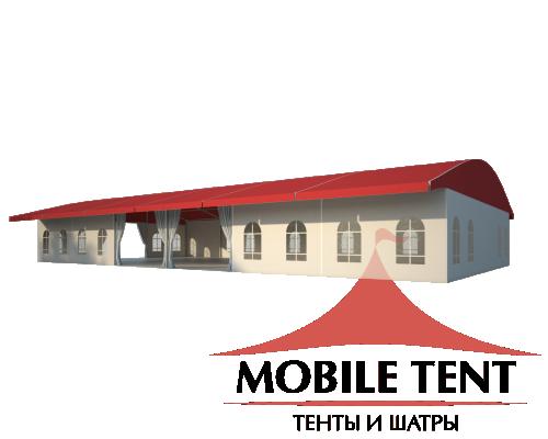 Шатёр для выставок 15х30 Схема 1