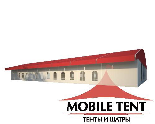 Шатёр для выставок 20х40 Схема 1